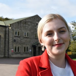 Sophie Wilson candidate for Sheffield Local Election Arbourthorne