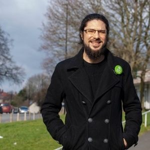 Alexi Dimond candidate for Sheffield Local Election Gleadless