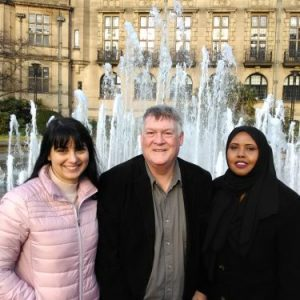 Brian Holmshaw candidate for Sheffield Local Election Broomhill